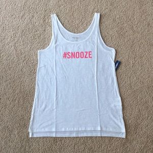 """*NWT* Old Navy """"#SNOOZE"""" Tank"""